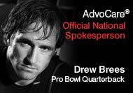 Advocare spokesperson Drew Brees. - Image